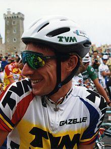 York, when Robert Millar, at the 1993 Tour de France